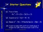 starter questions6