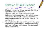 deletion of min element1