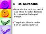 4 bai murabaha