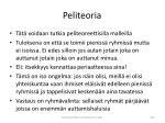 peliteoria