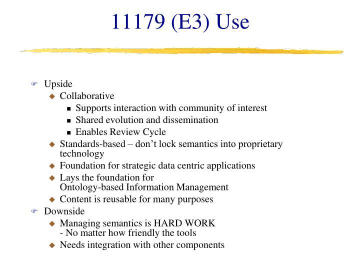 11179 (E3) Use