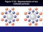 figure 17 23 representation of two colloidal particles