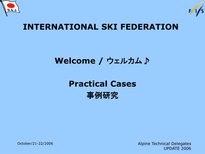 international ski federation n.