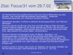 zitat focus 31 vom 29 7 02