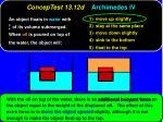 conceptest 13 12d archimedes iv1