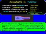conceptest 13 15a fluid flow1