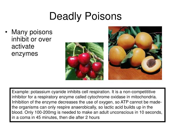 Deadly Poisons