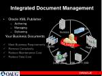 integrated document management