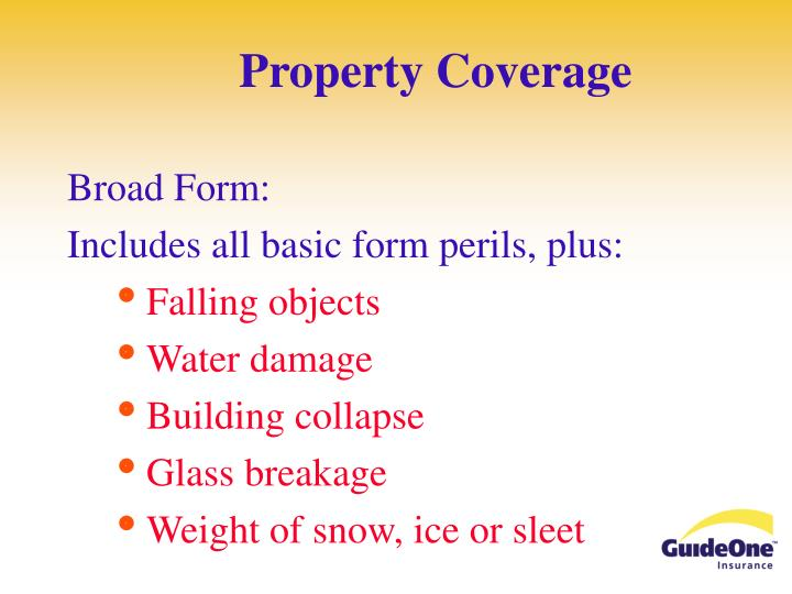 Property Coverage