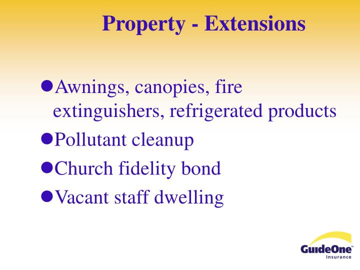 Property - Extensions
