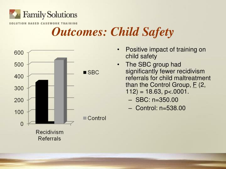Outcomes: Child Safety