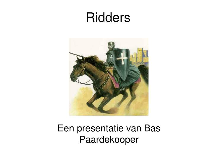 Beste PPT - Ridders PowerPoint Presentation, free download - ID:1330201 CU-36