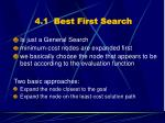 4 1 best first search