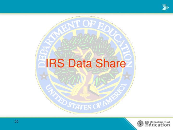 IRS Data Share