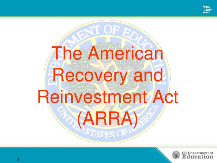 The american recovery and reinvestment act arra