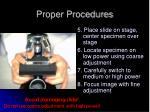 proper procedures2