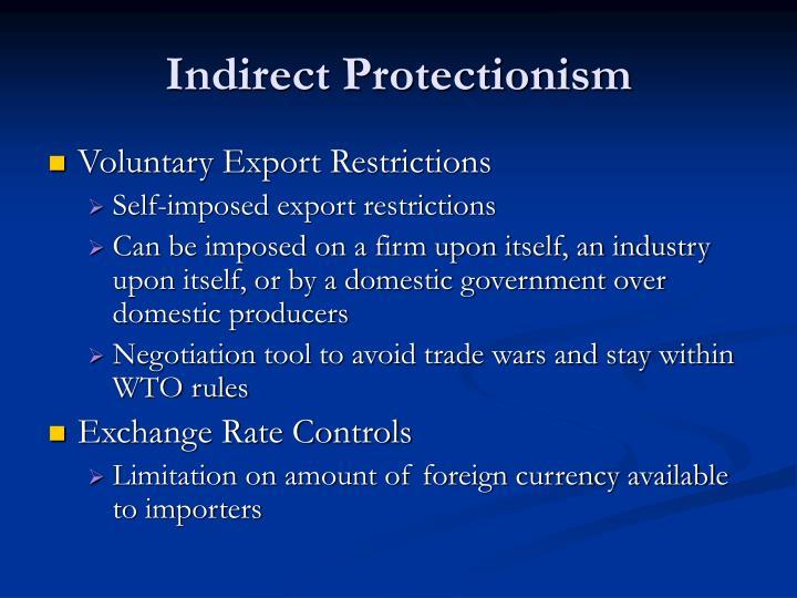 Indirect Protectionism