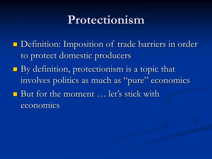 Protectionism1