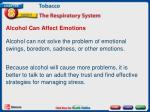alcohol can affect emotions