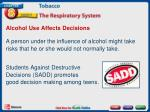 alcohol use affects decisions