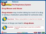drug misuse and abuse