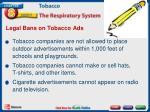 legal bans on tobacco ads