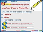 long term effects of alcohol use