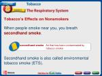 tobacco s effects on nonsmokers