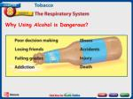 why using alcohol is dangerous