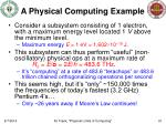 a physical computing example