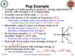 pop example