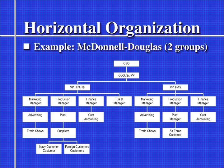 Horizontal Organization