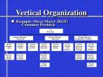 vertical organization
