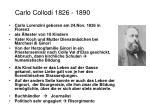 carlo collodi 1826 1890