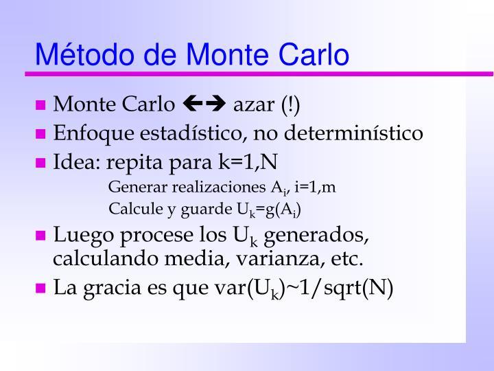 Método de Monte Carlo