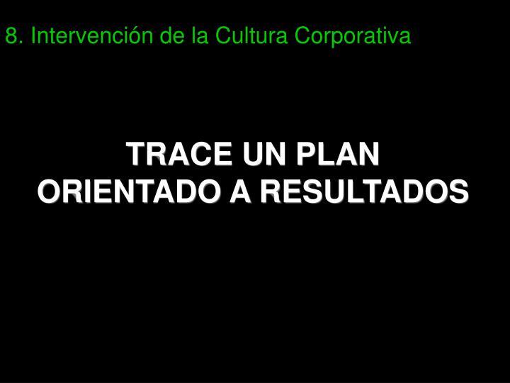 8. Intervención de la Cultura Corporativa