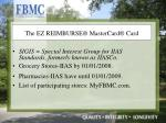 the ez reimburse mastercard card1
