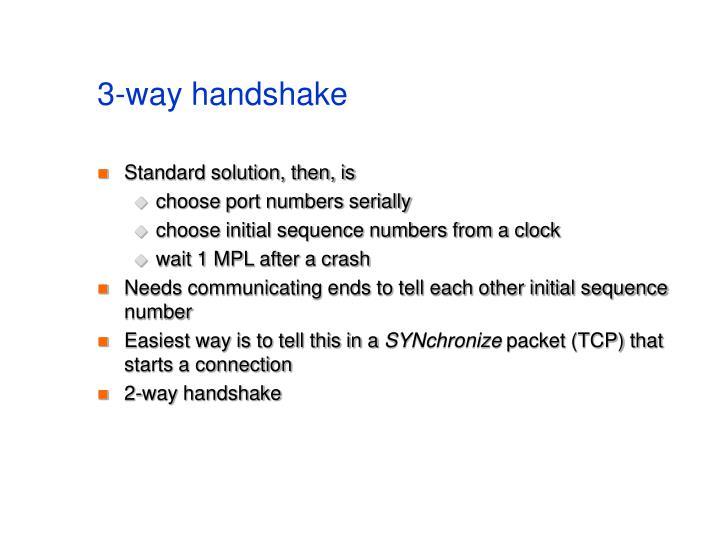 3-way handshake