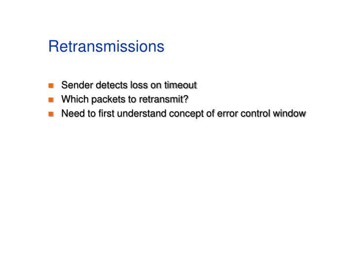 Retransmissions