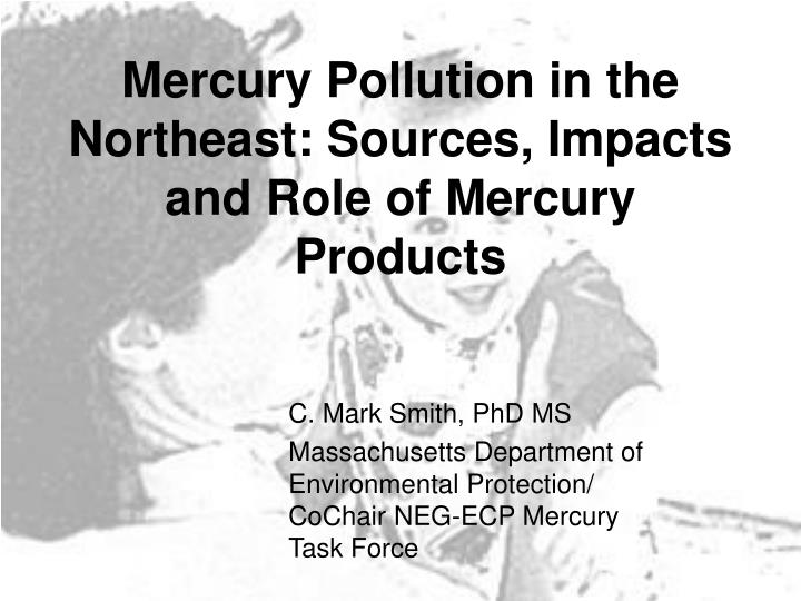 Mercury Pollution in the Northeast: Sources, Impacts and Role of Mercury Products