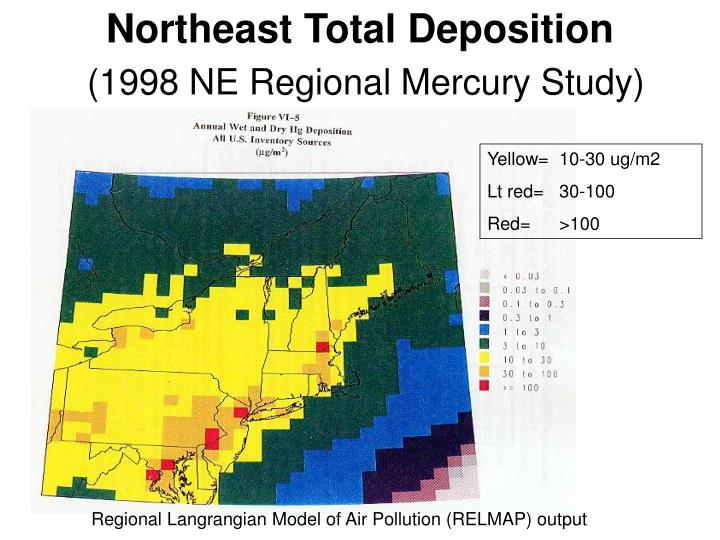 Northeast Total Deposition