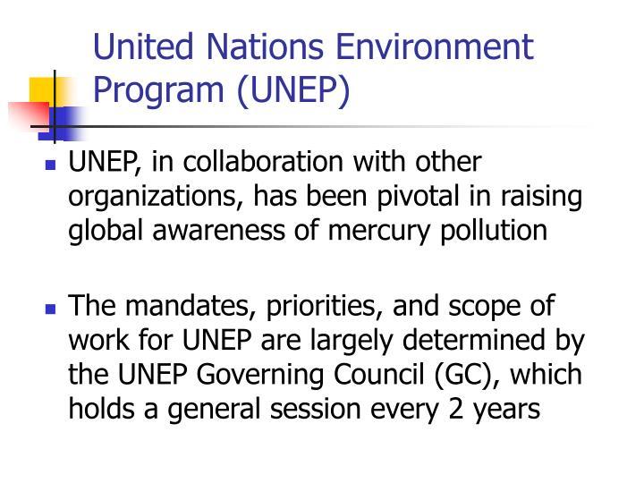 United Nations Environment Program (UNEP)
