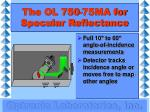 the ol 750 75ma for specular reflectance1