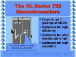 the ol series 750 monochromators2