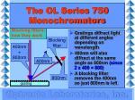 the ol series 750 monochromators5
