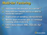 multi tier factoring