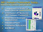 net compact framework today third party controls and libraries