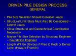 driven pile design process general3