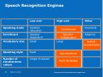 speech recognition engines1