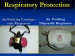 air purifying cartridge style respirators
